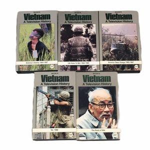 Vietnam a television history VHS tapes